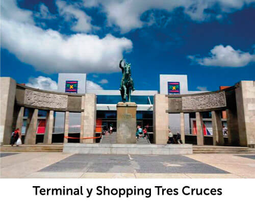 Terminal y Shopping Tres Cruces