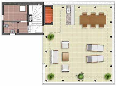 citadino oriental plano amenities