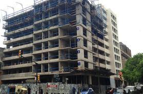 Torres del Rey fachada en construccion