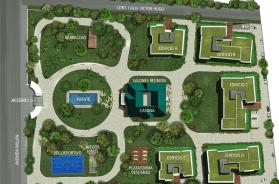 Town Park – mapa