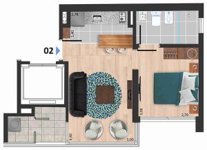Soleil Playa 1 dormitorio 02