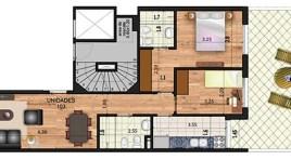2 Dormitorios con Patio en Pocitos a Estrenar en 2019