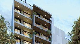 En Cordón apartamento Penthouse todo al frente con Parrillero y Terraza de 35 m2