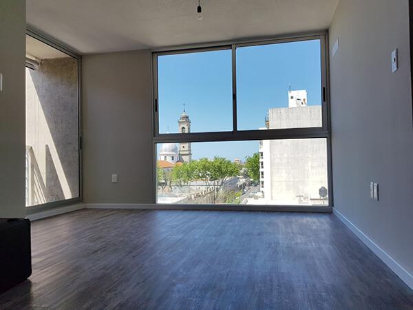 Edificio Gratas - Foto living 2 dormitorios