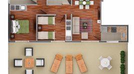 Penthouse en Punta Carretas a Estrenar con Gran Terraza