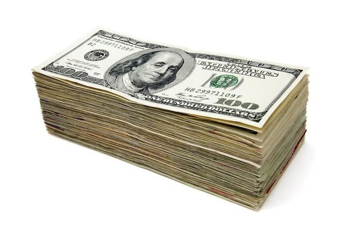 dolares billetes faco