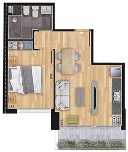 Soho 1 dormitorio 201