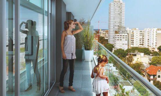 Initium Render Balcón