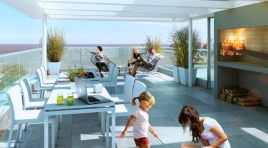 Amplio Penthouse con gran terraza en Punta Carretas