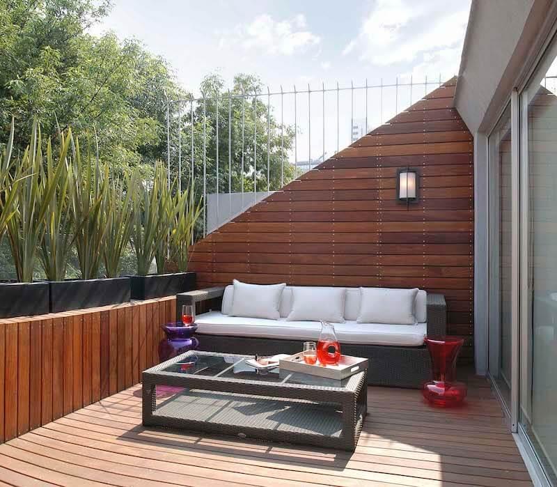 Horizonte Sol 1 dormitorio patio jardin