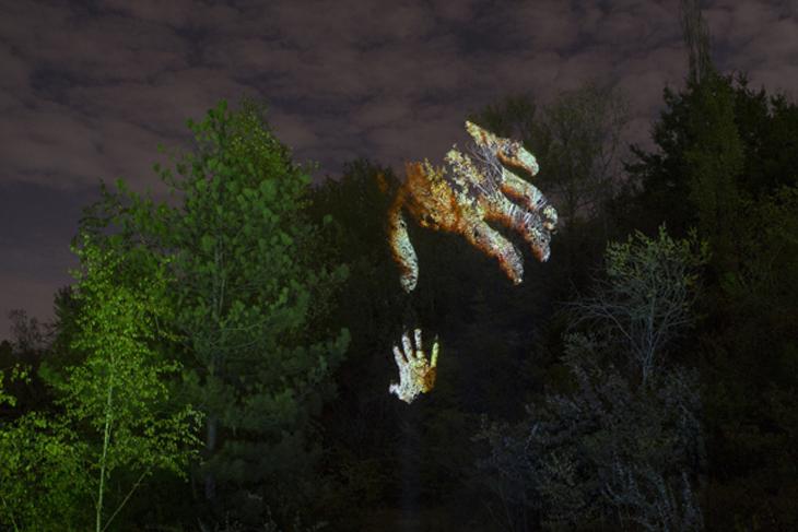 Os monstros de Olivier Crouzel