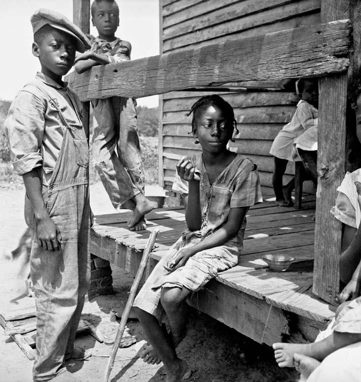 Dorothea Lange - Mississippi Delta Negro children, 1936