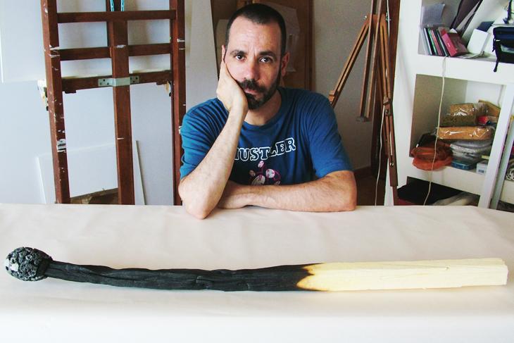 Rómulo Celdrán e suas esculturas realistas