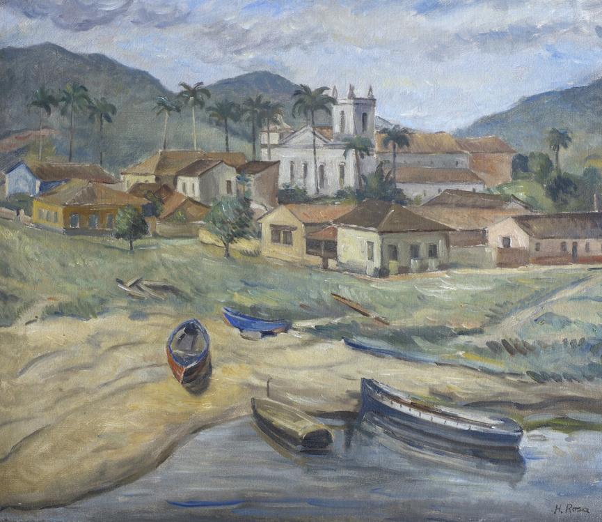 Humberto Rosa - 1940 c., Ubatuba, ost, 48 x 57 cm_baixa