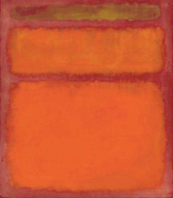 Orange, Red, Yellow por Rothko - : 86,9 milhões de dólares