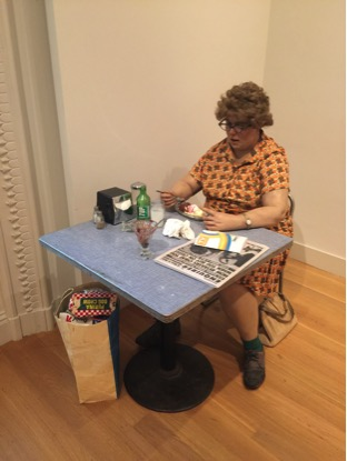 Duane Hanson – Woman Eating