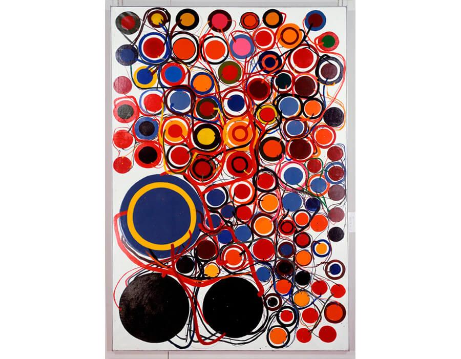 22.obra Work (Hoops) - artista Tanaka Atsuko - crédito divulgação