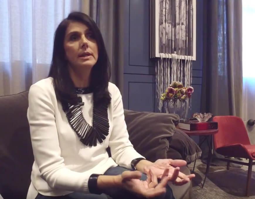 Entrevista com Denise Barretto na Casa Cor 2016