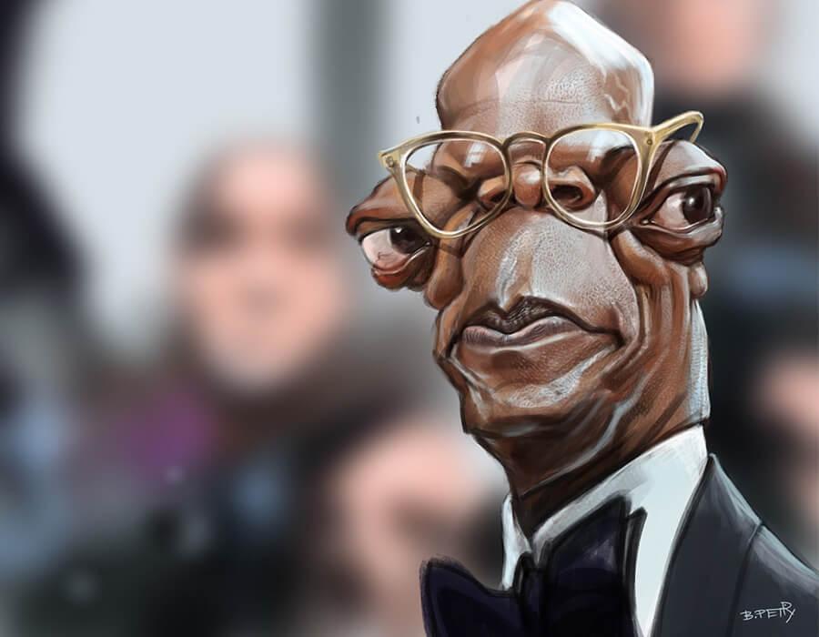 Samuel L. Jackson (Caricatura- B. Petry)