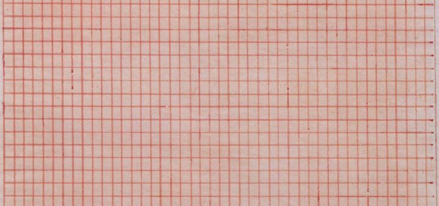 expressionismo abstrato; agnes-martin-sem-titulo-1963