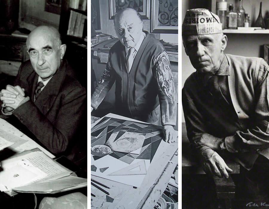 Movimentos artísticos; Ardengo Soffici, Nikolay Diulgheroff e Gino Severini