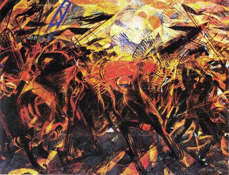 Futurismo - Funeral do Anarquista Galli