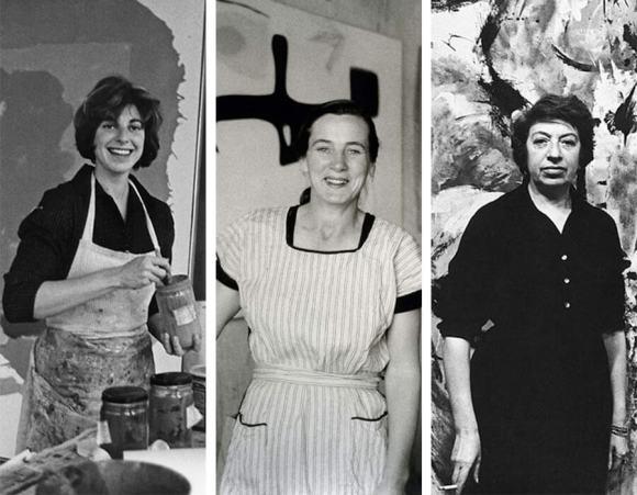 Movimentos artísticos; Helen Frankenthaler, Lee Krasner e Agnes Martin