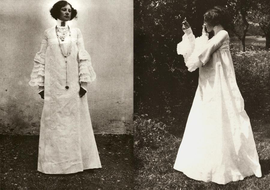 Conheça a designer por trás dos vestidos pintados por Gustav Klimt