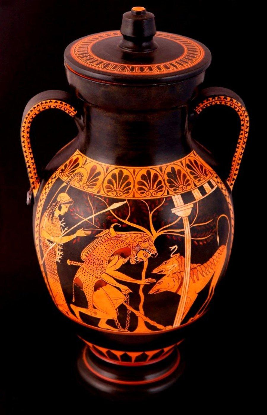 Exemplo de cerâmica grega