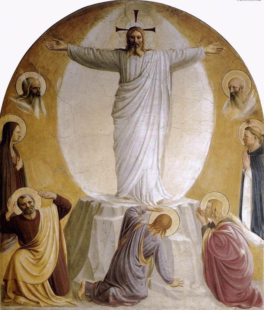 A Transfiguração (1440-1442) - Fra Angelico