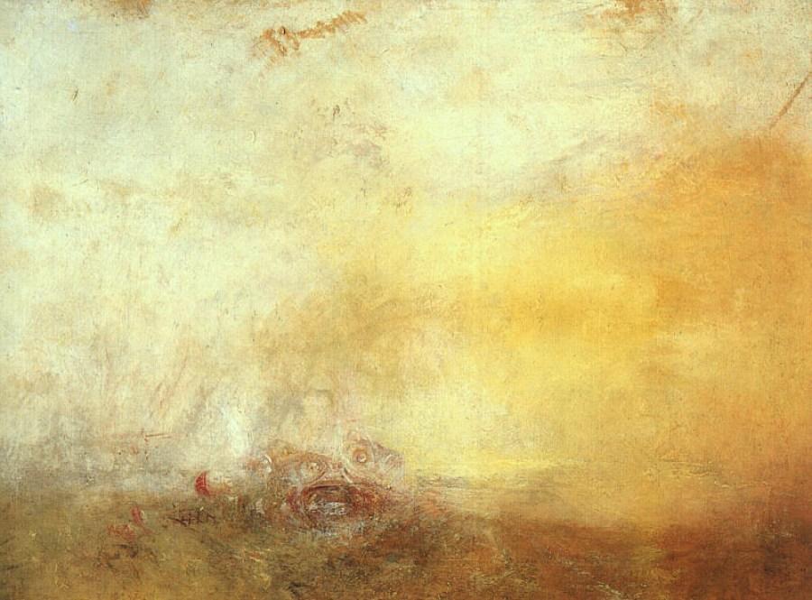 Nascer do Sol com Monstros Marinhos (1845) - Joseph Turner