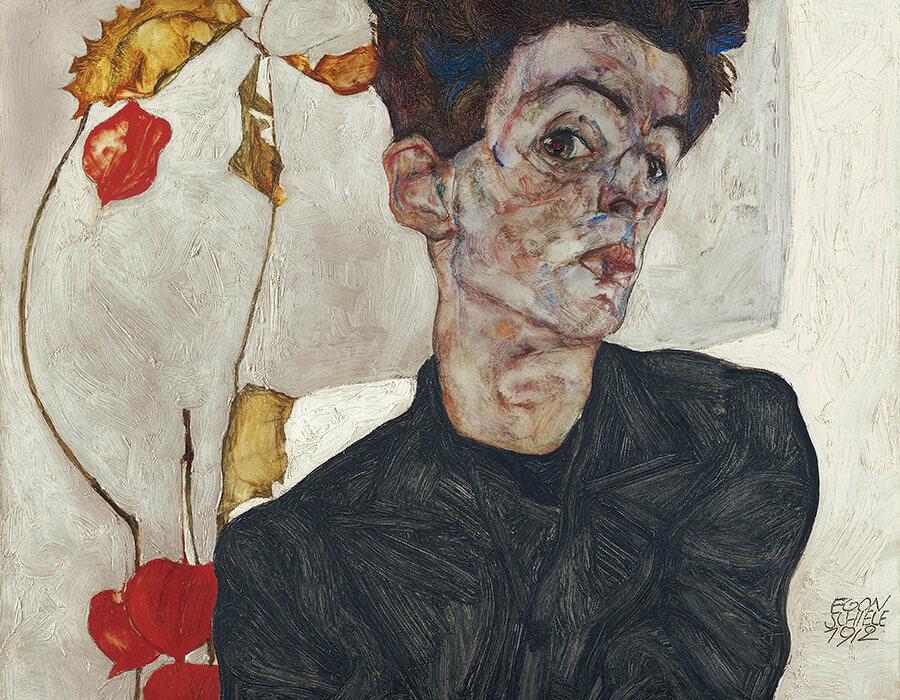 Egon Schiele revolucionou o modo de ver a pintura figurativa