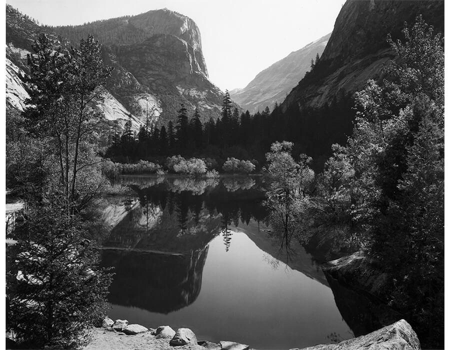 Mirror Lake, Morning, Yosemite National Park, 1928
