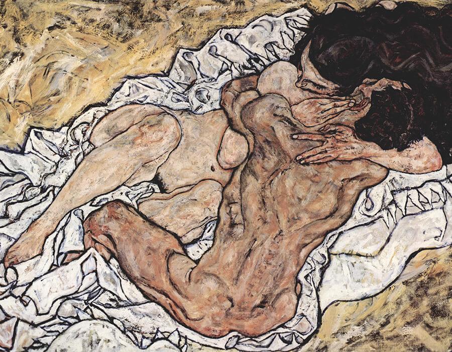 Egon Schiele: o prazer impregnado de dor, ou vice-versa