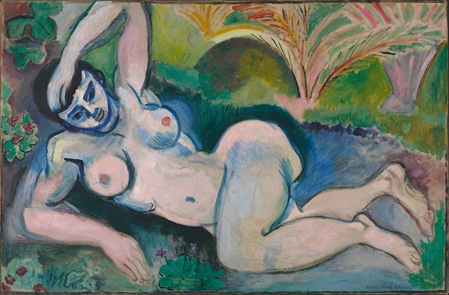fauvismo; Henri Matisse; O Nu Azul (1907)