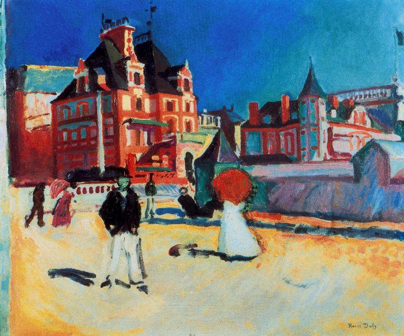 fauvismo; Raoul Dufy; Trouville (1907)