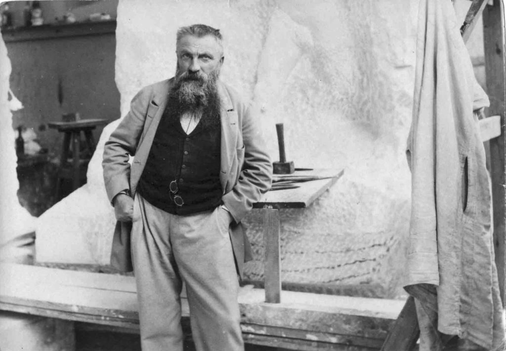 François Auguste René Rodin, 1898 e o pensador