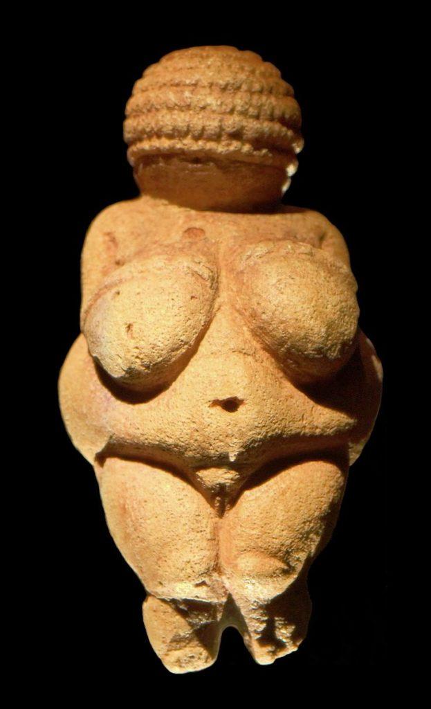 Vênus do período Paleolítico. gabinete de curiosidades