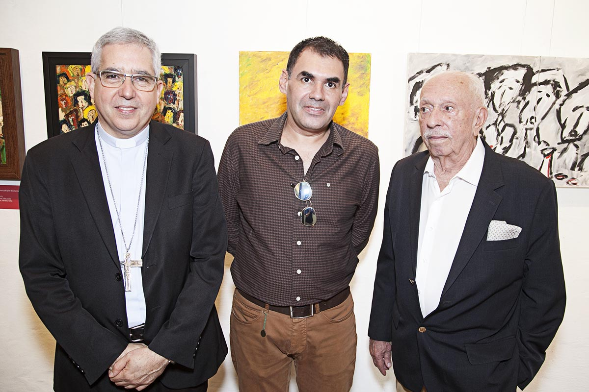 Dom Devair Araujo da Fonseca, Luiz Bhittencourt e José Carlos Marçal de Barros