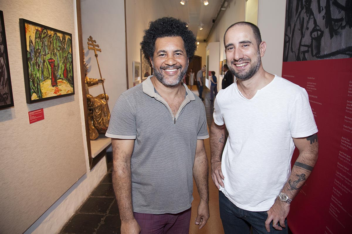 Luiz Martins e Duda Covett