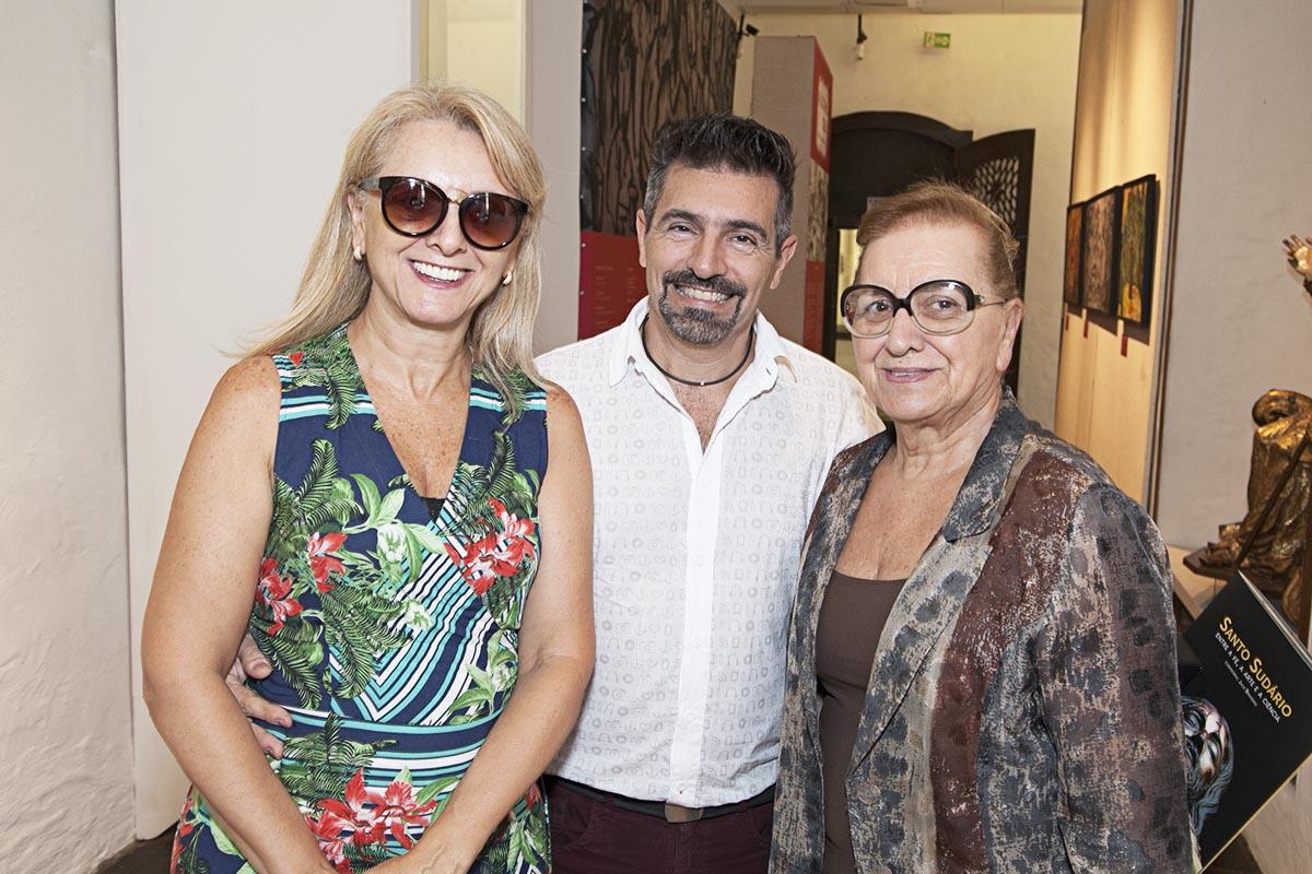Selma Leonato, Alexandre Leonato e Therezinha Martins