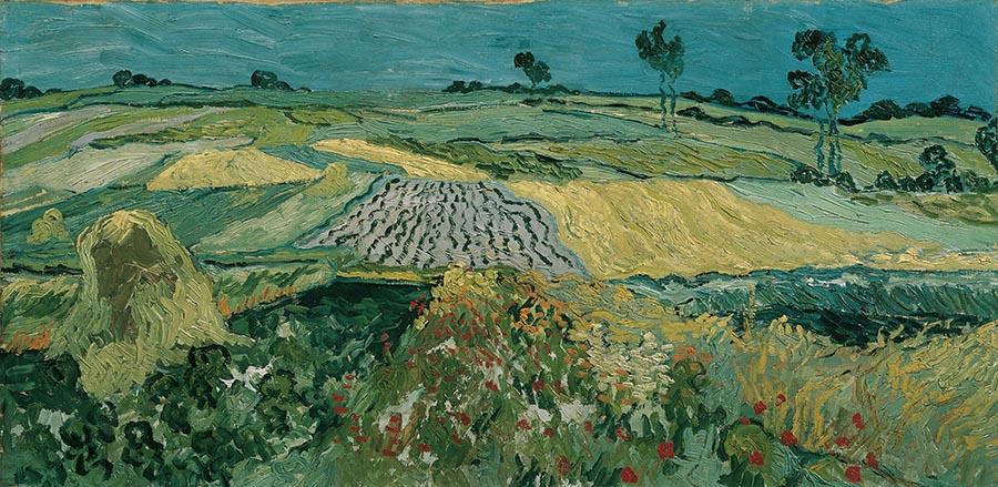 Van Gogh: The Plain of Auvers