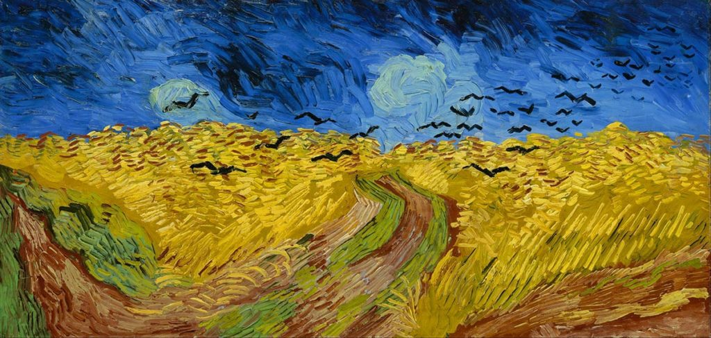 Campo de Trigo com Corvos: Van Gogh