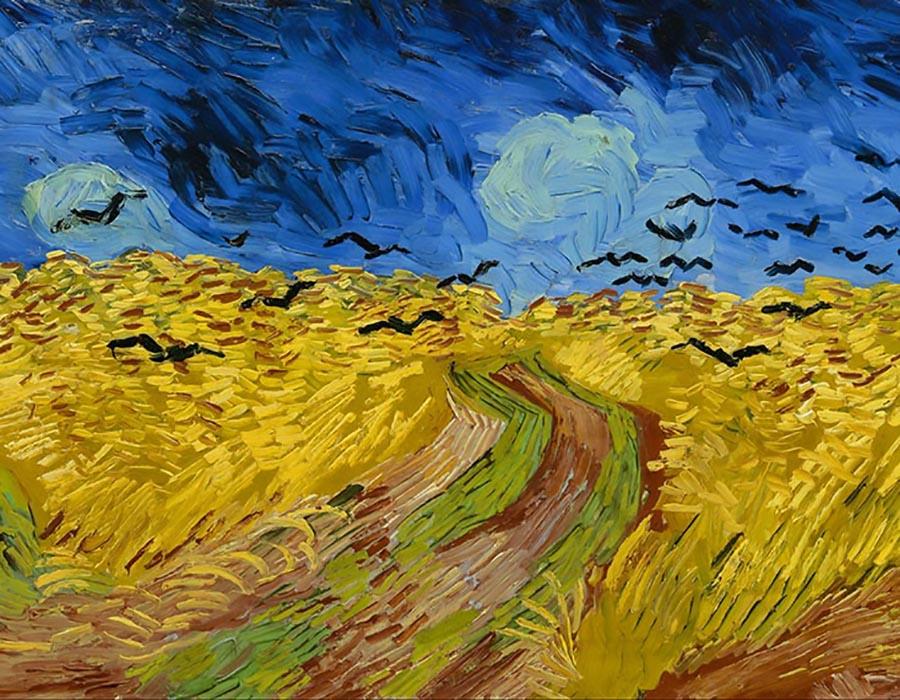 Van Gogh: Qual destas duas obras foi a última a ser pintada?