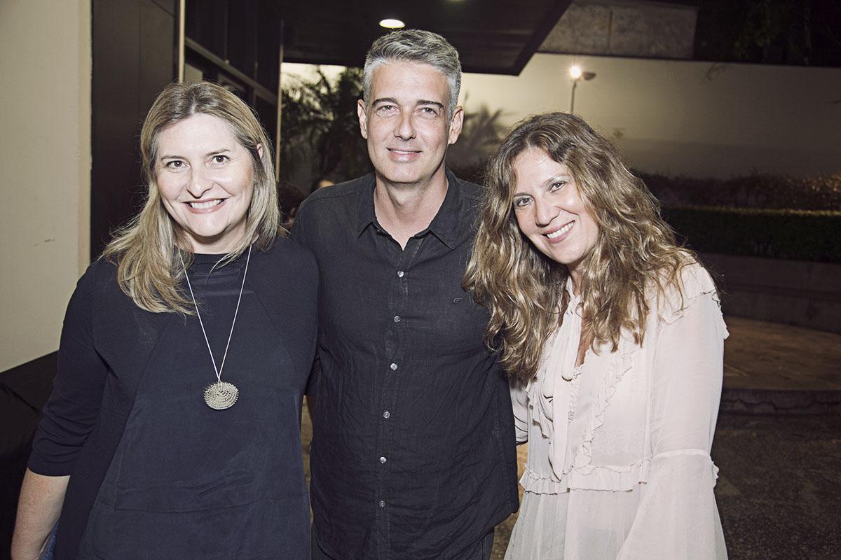 Anna Alberti, Alexandre Ferreira e Eliana Lopes