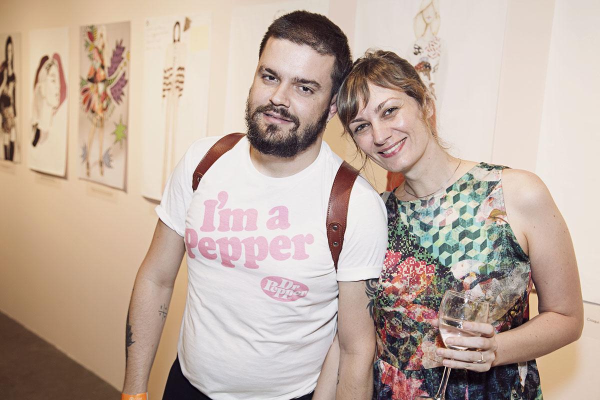 Leandro Guima e Julia Grassetti
