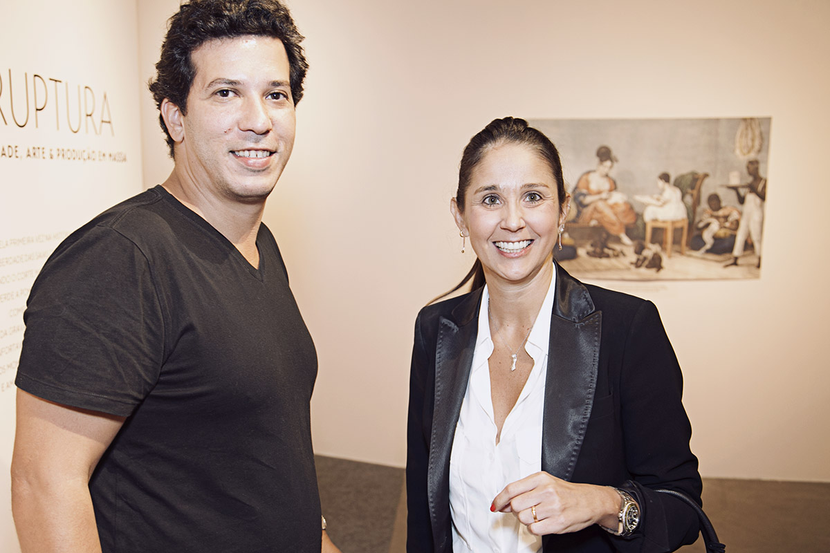 Marcel Mariano e Livia Barros