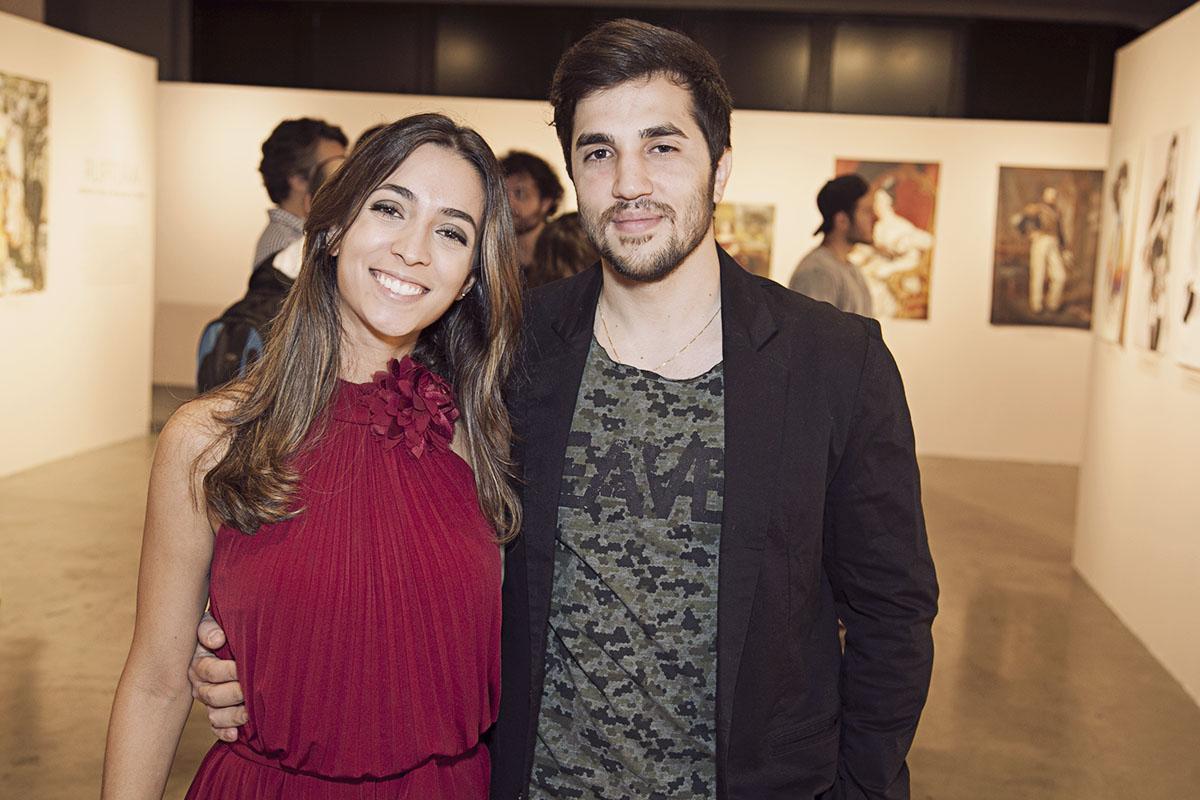 Monna Ricotta e Marco Muniz