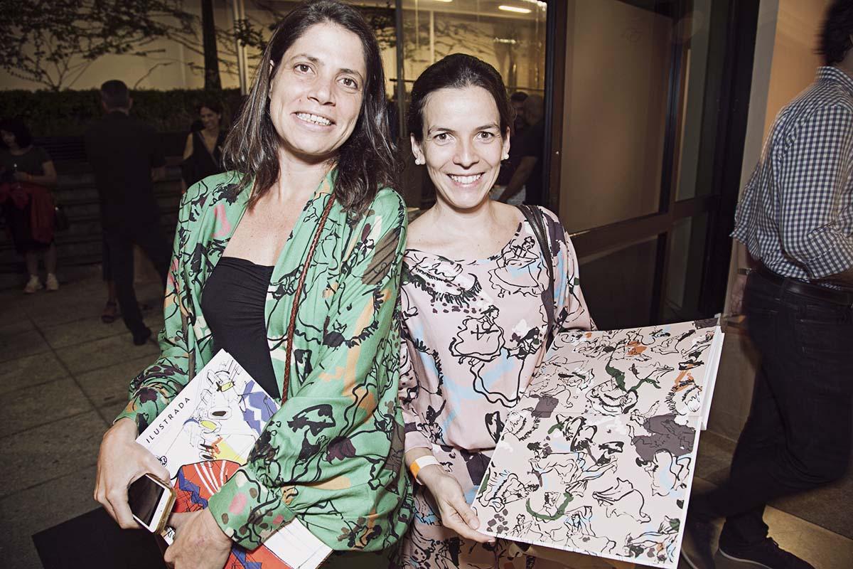 Rita Comparato e Lia Camargo