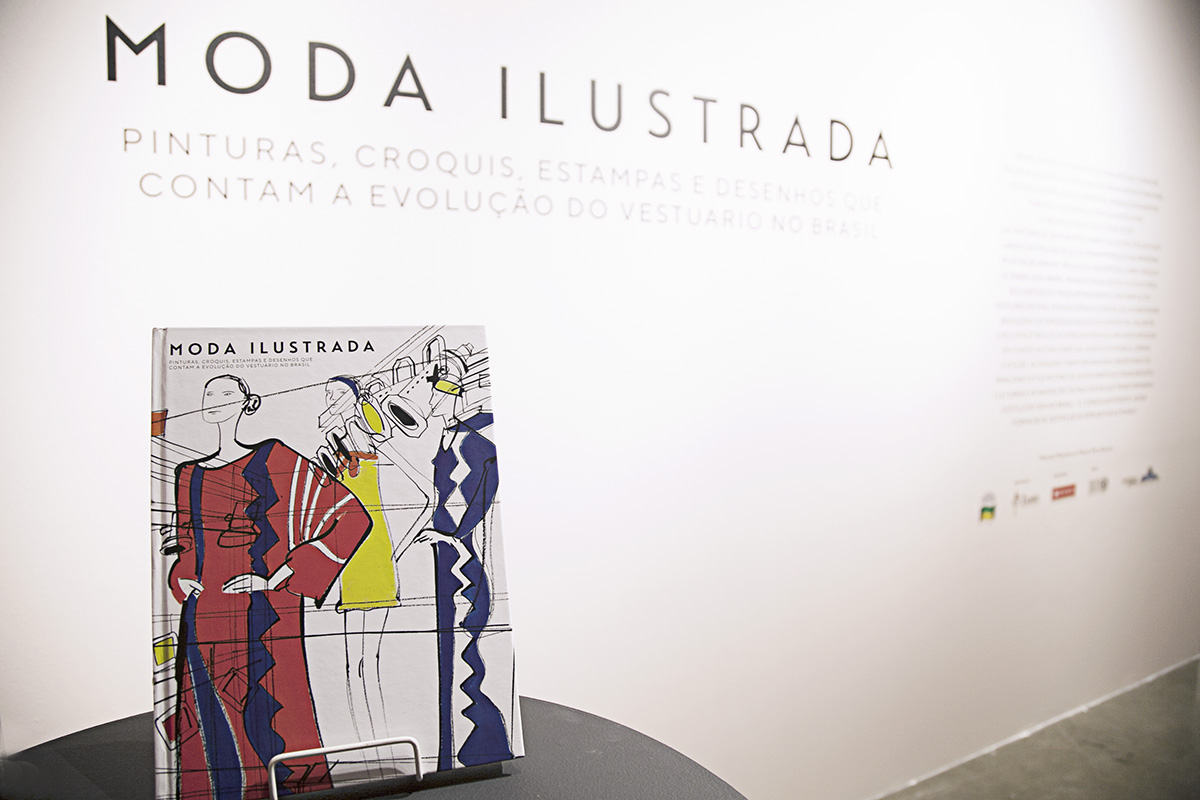 exposição Moda Ilustrada